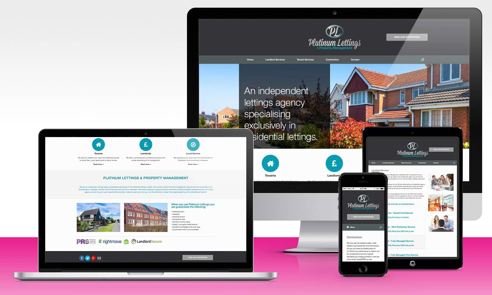 Web platinumlettings