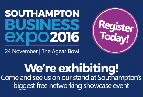 Join us at the Southampton Business Expo 2016!