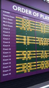 Tea and Tennis: Footprint goes to Wimbledon