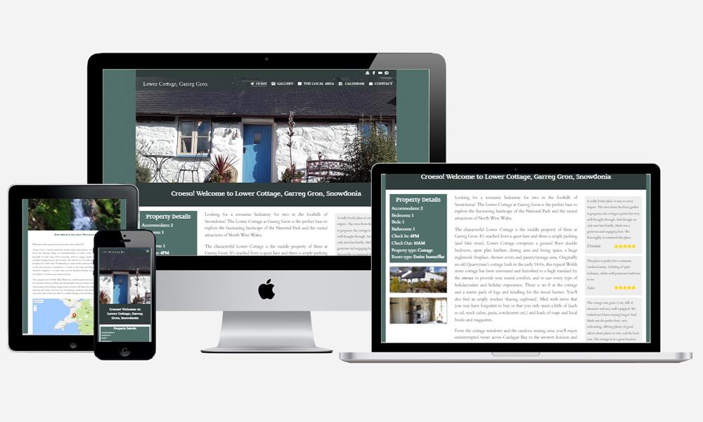 Garregron Cottages - Website Design in Southampton