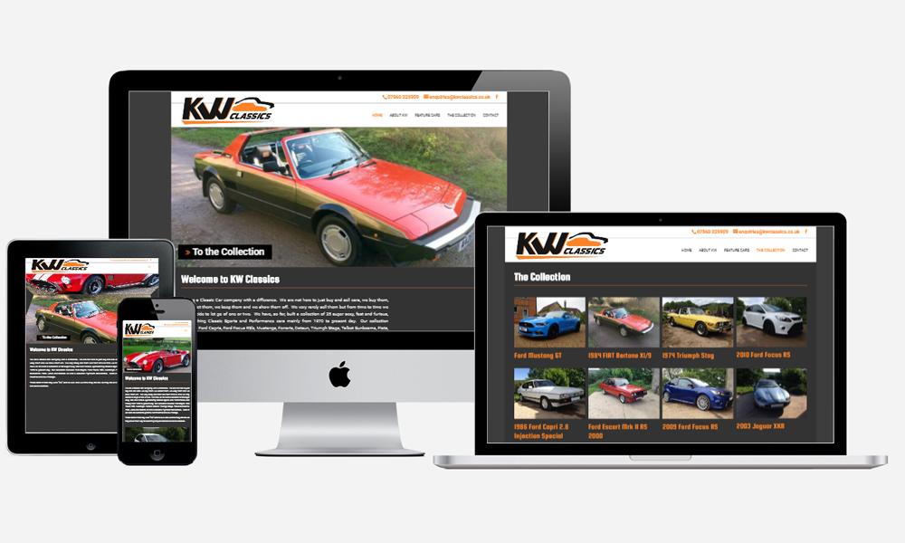 KW Classics - Website Design in Southampton
