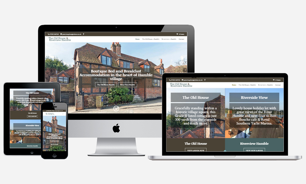 The Old House Hamble - Website Design in Southampton