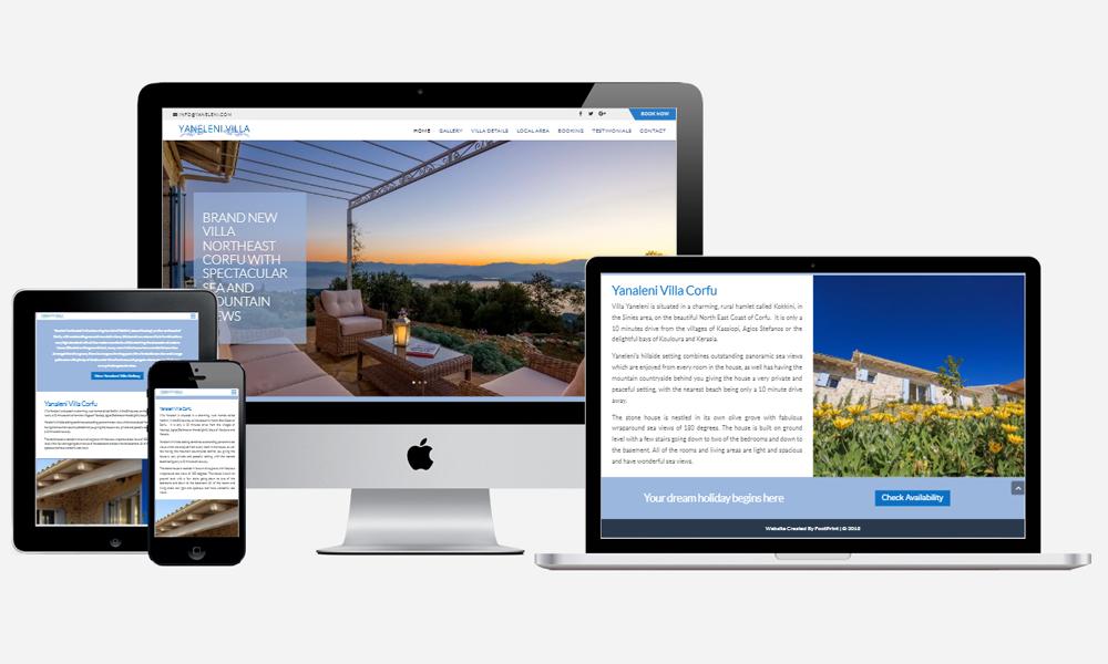 Yaneleni - Website Design in Southampton