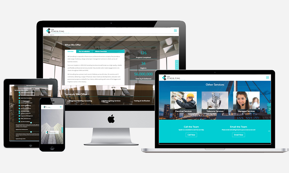 Website Design in Southampton - IBI Consulting
