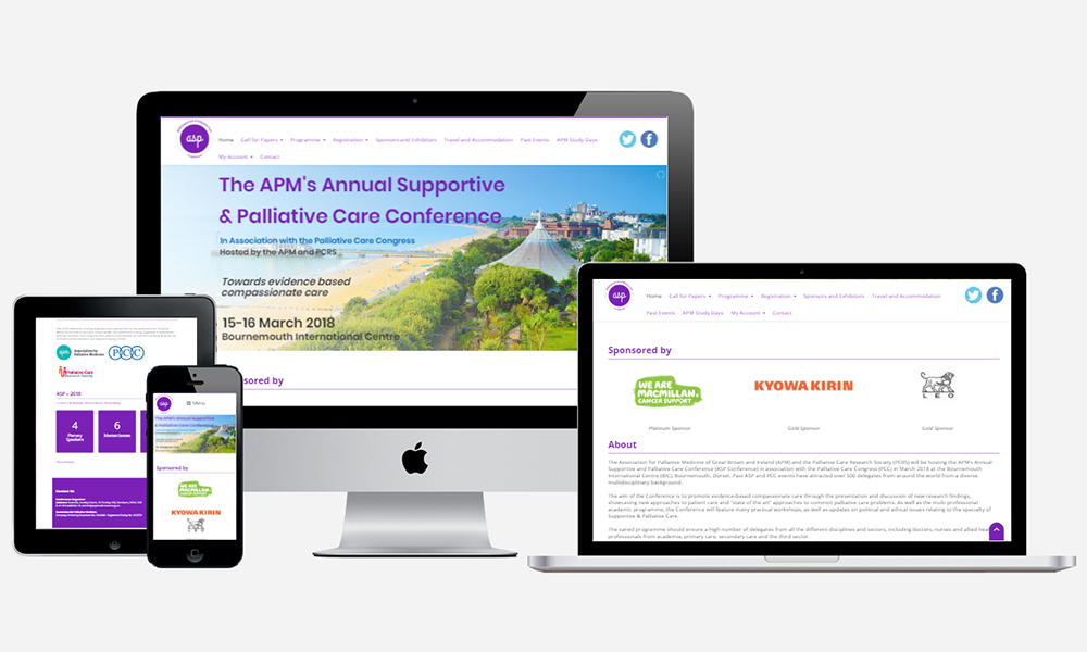 Website Design in Southampton - ASP Conference