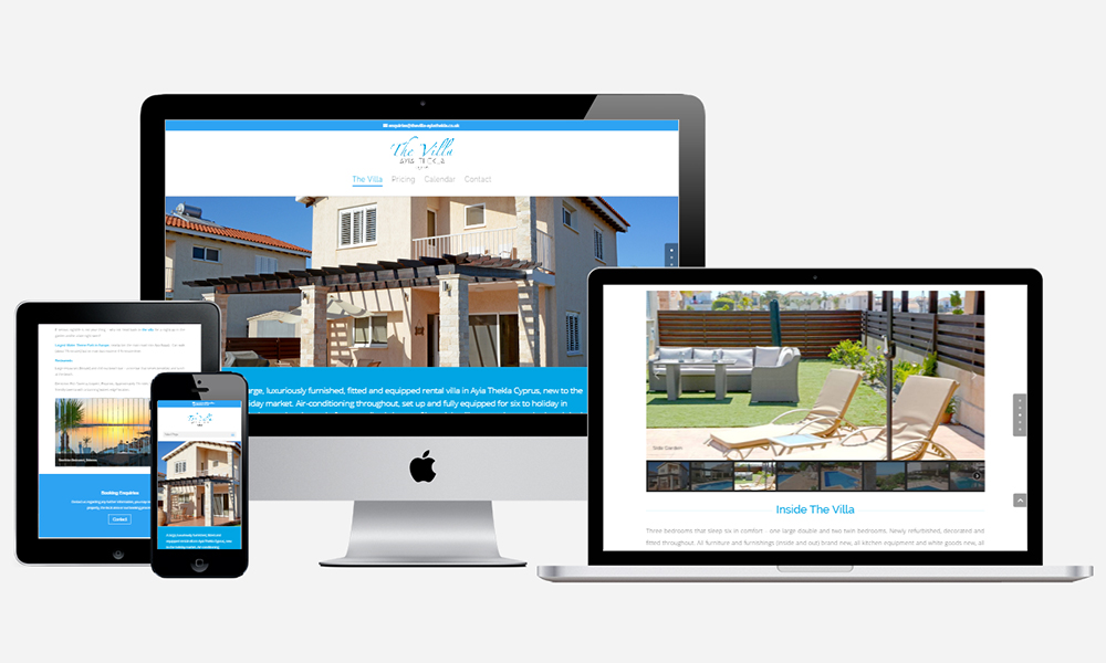 Website Design in Southampton - Aya Thekla